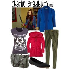 """Charlie Bradbury"" by evil-laugh on Polyvore"