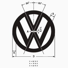 Awesome Volkswagen 2017: Volkswagen Logo Angles by xtentual  Art stuff
