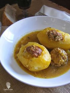 Meat Recipes, Cooking Recipes, Healthy Recipes, Potato Recipes, Minis, Salty Foods, Potato Cakes, Potato Skins, Latin Food