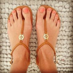 Tory Burch strappies - WANT