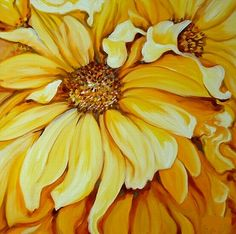 flower paintings | Beautiful Flower Painting