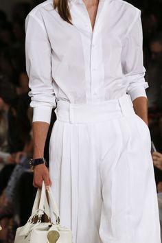 Rosamaria G Frangini | AllThingsWHITE | High Casual Fashion | Ralph Lauren SS16 |