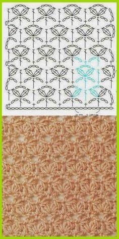 Watch This Video Beauteous Finished Make Crochet Look Like Knitting (the Waistcoat Stitch) Ideas. Amazing Make Crochet Look Like Knitting (the Waistcoat Stitch) Ideas. Col Crochet, Crochet Motifs, Crochet Diagram, Crochet Stitches Patterns, Crochet Chart, Knitting Stitches, Free Crochet, Stitch Patterns, Knitting Patterns