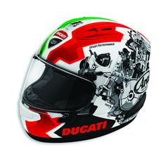 APPAREL, MEN, Ducati Corse V2 Helmet