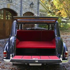Binz station wagon 1956 Mercedes-Benz 300C Adenauer classic | Mercedes-Benz Club of America originally custom built for Caroline Ryan Foulke, a wealthy socialite from NYC and Palm Beach.