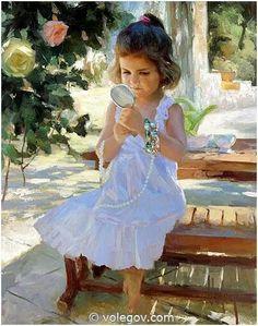 SMALL FASHION GIRL by Vladimir Volegov