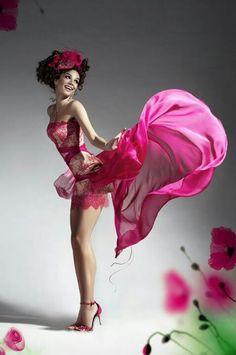 Flowing pink dress  #fashion #photography #fashionphotography