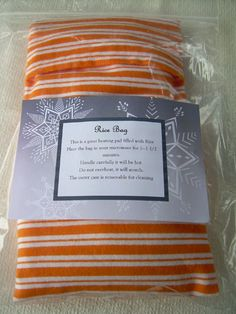 A blogging friend, Selina (find her blog here ) sent me a rice bag kit and instructions before Christmas, however I did not get a chance to ...