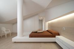 Attico su due piani, Abano Terme, 2012 - STIMAMIGLIO ConceptLuxuryDesign #bedroom