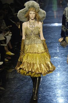 Jean Paul Gaultier- Fall Couture Collection
