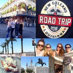 ROAD TRIP - First Stop : New Orleans / Louisiana  #roadtrip #neworleans #louisiana #bourbonstreet #frenchquarter #cafedumondebeignets #beignets  #food #vodoo #architecture #summervibes #vacation #aupair #goodlife #bucketlist by carochani