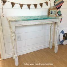 http://followyourheartwoodworking.blogspot.ca/2017/05/coastal-hall-table.html
