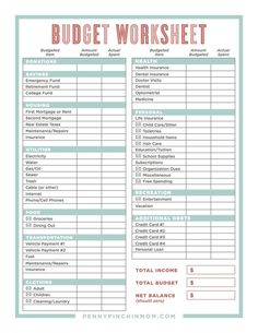 Learn how to create a budget that will actually work. Includes free budget template to print so you can make your own workable budget Home Budget Spreadsheet, Excel Budget, Budget Binder, Budget Help, Money Budget, Family Budget Planner, Create A Budget, Free Budget Planner, Best Budget Apps