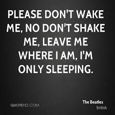 Image result for beatles i'm only sleeping