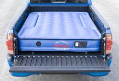 Extreme Comfort for extreme people. Every AirBedz Mattress is specifically designed to fit around and over the wheel wells of your pick-up truck providing a sleep area that utilizes the entire truck bed. This provides more room and comfort to the outdoor enthusiast. Rugged heavy-duty cloth construction ensures a more puncture resistant protection to meet the hardcore outdoorsmen's needs….where playing hard and sleeping well is all that matters. With an additional accessory, the inflatabl...