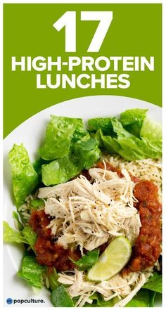 Stay full through to dinner with these nutritious, high protein lunch recipes that are easy to prep and will help with your weight loss efforts. Check out: High-Protein Lunches To Help Nix Your Afternoon Hunger Pangs. Clean Eating Snacks, Healthy Snacks, Healthy Eating, Healthy Recipes, Diet Recipes, Smoothie Recipes, Vegetarian Recipes, Ketogenic Recipes, High Protein Low Carb