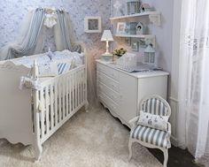 light blue nursery