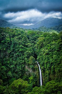 Catarata Rio La Fortuna in Costa Rica