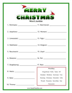 photo regarding Printable Christmas Word Games referred to as Free of charge Printable Xmas Term Online games Merry Xmas And