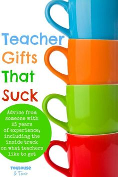 Teacher Gifts That S