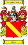 Shinn Coat of Arms / Shinn Family Crest