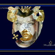 Art of BlueStar - Barock LVI. - Barock /Versailles, Fotocollage, 30 x 45 cm