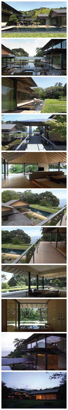 Shinkenchiku (New Architecture) December 2012  Water / Cherry  Architect: Kengo Kuma & Associates
