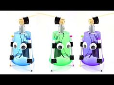 Make a cotton ball launcher with rubber bands and paper towel tubes. Robotics Engineering, Robotics Projects, Engineering Projects, Stem Projects, Cool Science Fair Projects, Science Kits, Science And Technology, Science Party, Science Activities