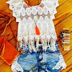Fringe and Crochet!