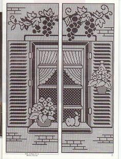 Gallery.ru / Фото #61 - Filet Crochet pour Point de Croix 2 - Mongia