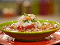 Get this all-star, easy-to-follow Everything Gumbo recipe from Rachael Ray