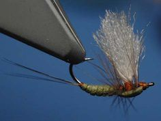 Upside Down Dun - How to tie fly, Fly tying Step by Step Patterns & Tutorials