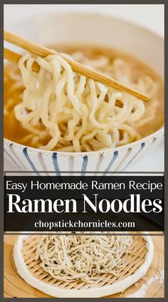 Easy homemade ramen noodles recipe without using a noodle-making machine. You can make delicious noodles at home with just 4 ingredients. #japaneseramen #noodlerecipes #recipes #noodlerecipeseasy #noodlerecipessoup #noodles #recipeseasy #ramennoodlerecipes Ramen Noodle Recipes Homemade, Ramen Recipes, Japanese Street Food, Japanese Food, How To Make Ramen, Ramen Restaurant, Best Side Dishes, Food Shows, Ramen Noodles