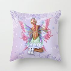 Make a Wish Fairy Throw Pillow by Spice - $20.00