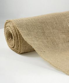 Love this Natural Burlap Jute Fabric Roll on #zulily! #zulilyfinds