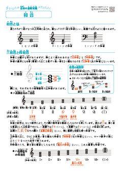音楽の基礎知識「音階(全音と半音・長音階・短音階)、和音(三和音・四和音)」まとめプリント 無料ダウンロード・印刷|ちびむすドリル【小学生】 Music Theory, Art Music, Sheet Music, Life Hacks, Infographic, Education, Keyboard, Musik, Infographics