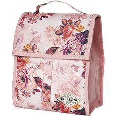 Billabong Pretty Rebel Lunch Box (465 TWD) ❤ liked on Polyvore featuring home, kitchen & dining, food storage containers, bags, accessories, floral, floral lunch box, billabong, lunch box and billabong bag