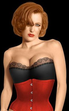 @Gillian Anderson looking HAWT! She looks like a Sim tho - wasnt this photoshopped? :S