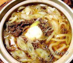 長男帰宅。 ムニエル➕肉うどん 常備食の醤油麹の牛肉しぐれで作ってます。 煮えたぎってます - 101件のもぐもぐ - 醤油麹の牛肉しぐれ入鍋焼きうどん Shigure beef noodle-filled by 0987hiropon