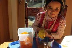 Squeezing satsumas frozen desert easy and healthy and fun