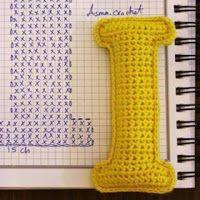 Crochet Alphabet, Crochet Letters, Crochet Motif, Easy Crochet, Chrochet, Family Gifts, Arm Warmers, Knitting, Pattern