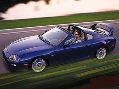 Toyota Supra Turbo 1993.  I wanted one of these so badly in college.