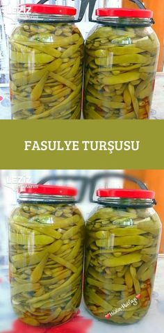 Fasulye Turşusu Pickles, Cucumber, Food And Drink, Pasta, Vegetables, Cooking, Kitchen, Veggies, Kochen