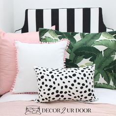 Complete your beautiful dorm bedding with a black and white stripes extra long dorm bed skirt and dorm headboard bundle by Decor 2 Ur Door. Dorm Bedding Sets, Luxury Bedding Sets, Linen Bedding, Bed Linens, Comforter Sets, Boho Bedding, Linen Pillows, College Bedding, Rustic Bedding
