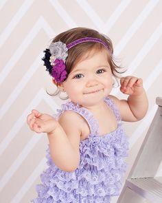 Baby headband, infant headband, toddler headband, adult headband, shabby flower, purple flower, photo prop headband, photography, christmas