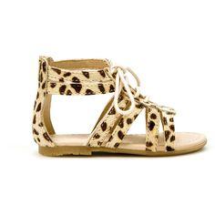Zara Baby Leopard Print Sandal--too cute!