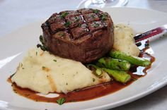 #1 Selling Steak Entree - 8 Oz Filet Mignon with Buttermilk Mashed Potatoes and Vegetable