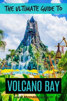 Looking to plan the perfect day at Volcano Bay? This is the ultimate guide to Volcano Bay attractions, rides, food, and more in an easy question and answer format. Including all the best Volcano Bay tips and insider tricks! Travel Guides, Travel Tips, Travel Destinations, Travel Essentials, Amazing Destinations, Florida Travel, Travel Usa, Disney Travel, Florida Vacation