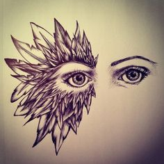 zentangle eye