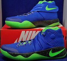 60122dd49e38 Nike Zoom Kyrie 2 iD Blue Green Black Seattle Seahawks SZ 11 ( 843253-998 )